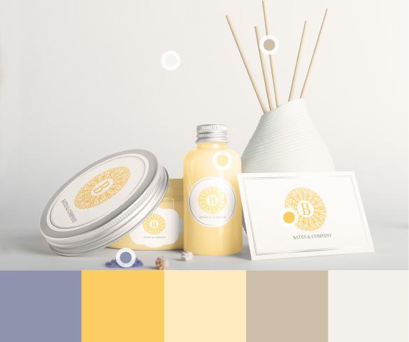 Yellow Spa Items